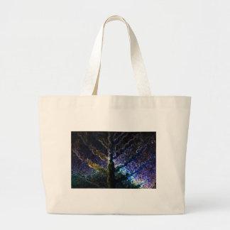 Neon Leaf Tote Bag