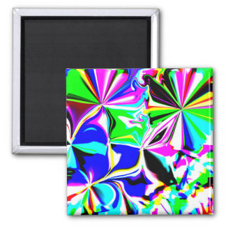 Neon Light Abstract Magnet