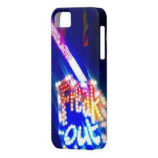 Neon Lights Freak Out Phone Case iPhone 5 Cases