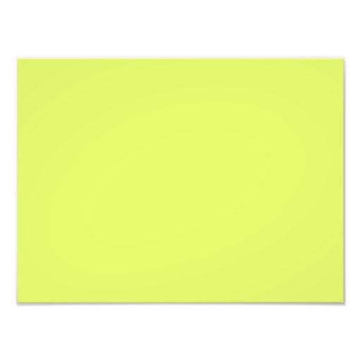 Neon Lime Yellow Green Color Trend Blank Template Art Photo