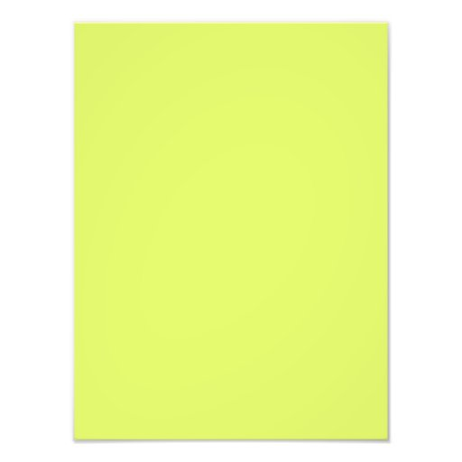 Neon Lime Yellow Green Color Trend Blank Template Photo
