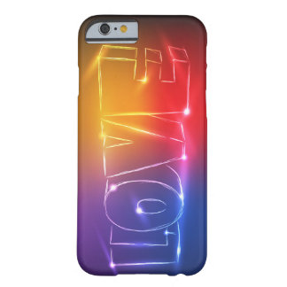 Neon Love Barely There iPhone 6 Case