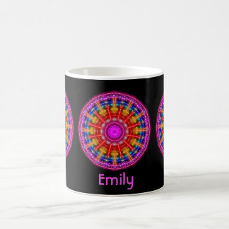 Neon Medallion Coffee Mug