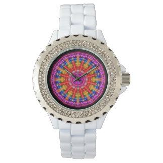 Neon Medallion Watch
