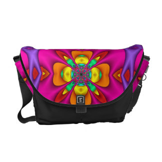 Neon Messenger Bag