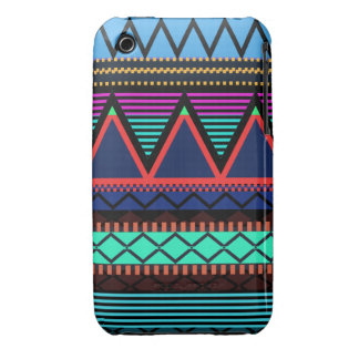 Neon Modern Tribal iPhone 3/3GS Case-Mate Ca iPhone 3 Cover