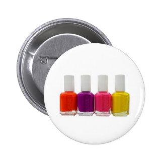 Neon Nail Polish Pin