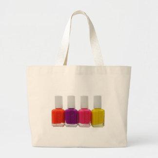 Neon Nail Polish Bags