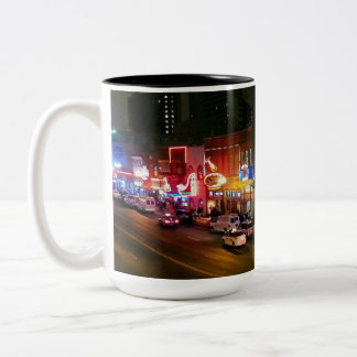 Neon Nashville Two-Tone Coffee Mug
