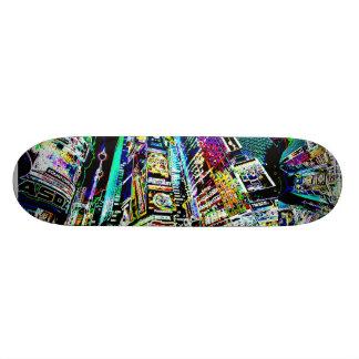 Neon New York City Skate Decks