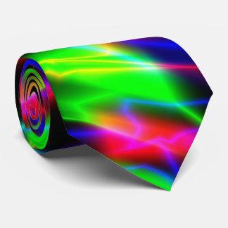Neon Night Tie
