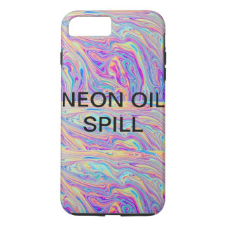 NEON OIL SPILL PHONE CASE