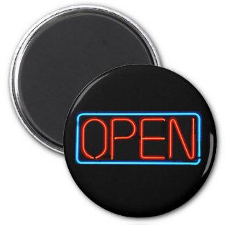 Neon Open Sign Magnet