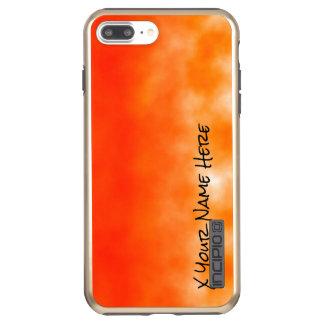 Neon Orange Chemical Glow Look 2 Incipio DualPro Shine iPhone 8 Plus/7 Plus Case