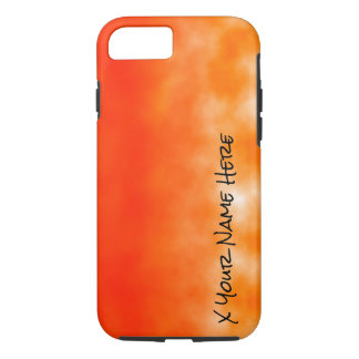 Neon Orange Chemical Glow Look 2 iPhone 7 Case
