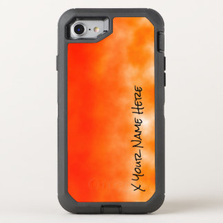 Neon Orange Chemical Glow Look 2 OtterBox Defender iPhone 7 Case