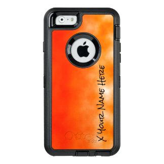 Neon Orange Chemical Glow Look 2 OtterBox Defender iPhone Case