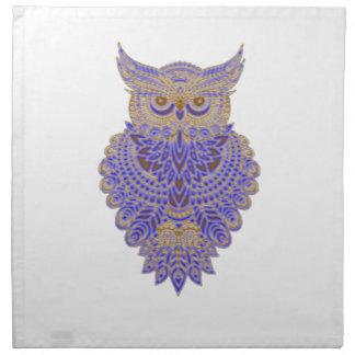 Neon Owl Napkin