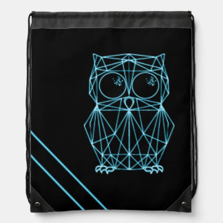 Neon owl turn bag