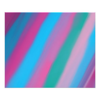 Neon pink green blue stripes pattern photo art