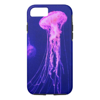 Neon Pink Jellyfish iPhone 8/7 Case