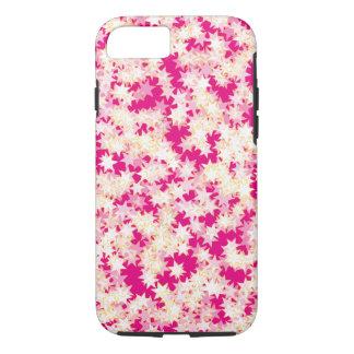 Neon Pink Lemon Cream Yellow Stars iPhone 8/7 Case