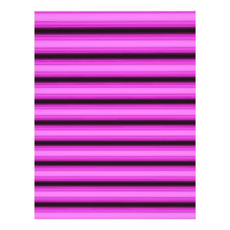 Neon Pink Stripes Full Color Flyer