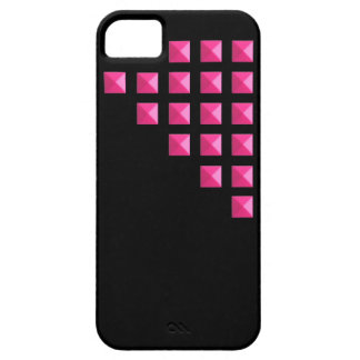 Neon Pink Studs iPhone 5 Covers