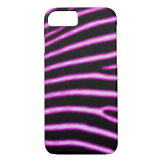 Neon Pink Zebra Case