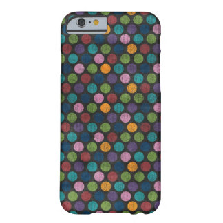 Neon Polka Dot Skin Barely There iPhone 6 Case