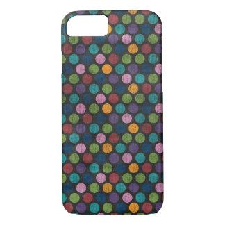 Neon Polka Dot Skin iPhone 7 Case