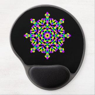 *~* Neon Powerful Mandala Healing Arts Gel Mouse Pad