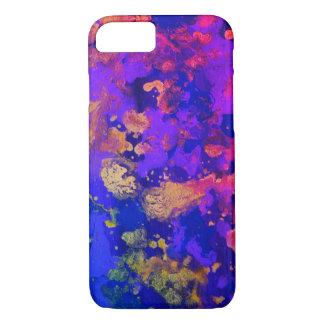 Neon Purple Haze iPhone 8/7 Case