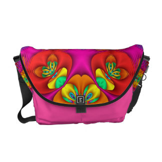 Neon Purr Messenger Bag