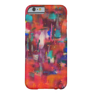 Neon Rain Barely There iPhone 6 Case
