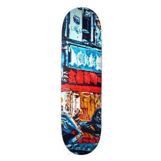 Neon Reflections Skateboard Decks
