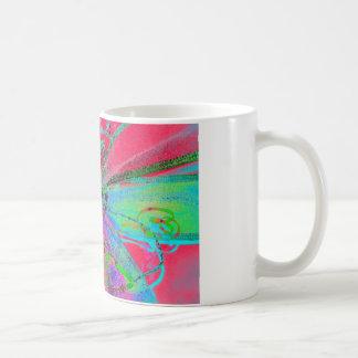 Neon Ribbons Gift Bow Mug