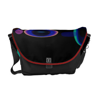 Neon Rings Courier Bags