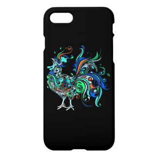 Neon Rooster iPhone 7 Case