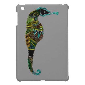 Neon Seahorse Case For The iPad Mini