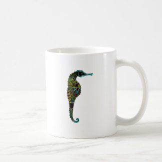 Neon Seahorse Coffee Mug