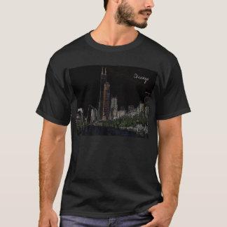 Neon Sears Tower T-Shirt
