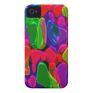 Neon Shapes iPhone4 Case iPhone 4 Cases