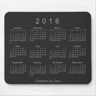 Neon Silver 2016 Calendar by Janz Mousepad