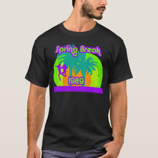 Neon Spring Break 1989 80s T-Shirt