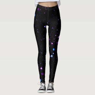 Neon Stars Leggings