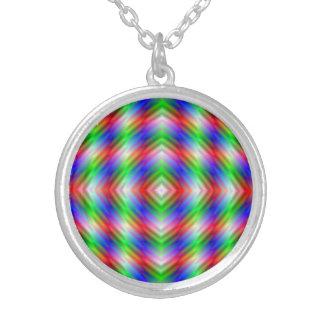 Neon Stripes  Necklace
