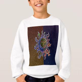 Neon Sun Moon Sweatshirt