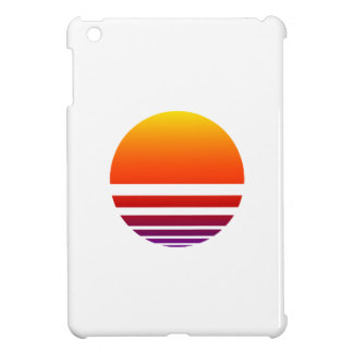 Neon Sunrise iPad Mini Cover