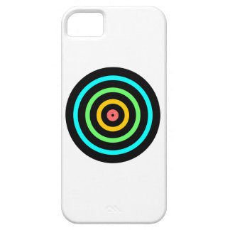 Neon Target iPhone 5 Cover